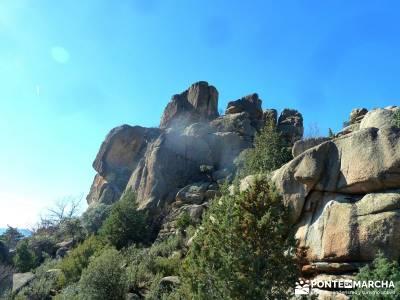 Puente de los Pollos - Cancho de los Muertos - La Pedriza; excursiones fin de semana; excursiones de
